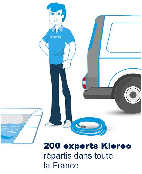 200 experts Klereo répartis dans toute la France
