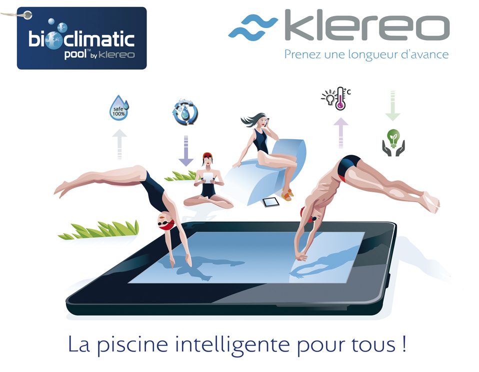 piscinier : piscine intelligente by Klereo